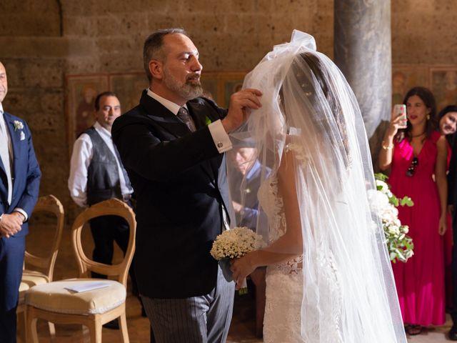 Il matrimonio di Emilio e Lucilla a Nepi, Viterbo 40