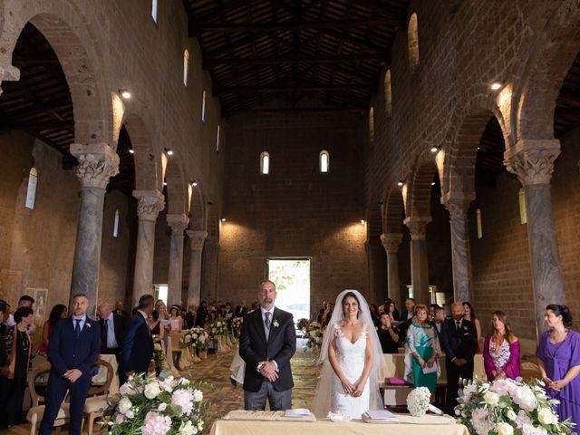 Il matrimonio di Emilio e Lucilla a Nepi, Viterbo 41