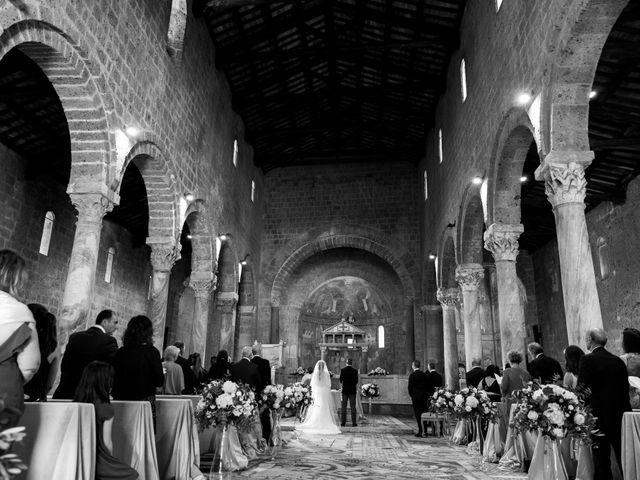 Il matrimonio di Emilio e Lucilla a Nepi, Viterbo 42