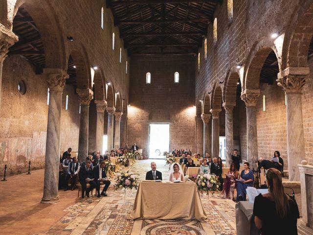 Il matrimonio di Emilio e Lucilla a Nepi, Viterbo 43