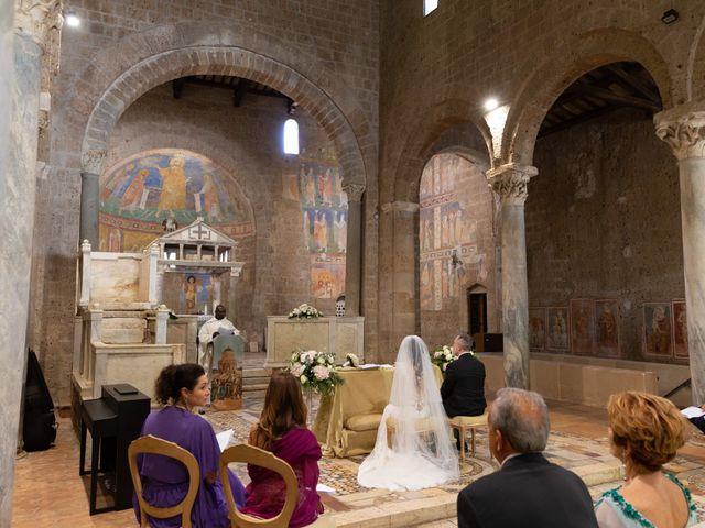 Il matrimonio di Emilio e Lucilla a Nepi, Viterbo 44