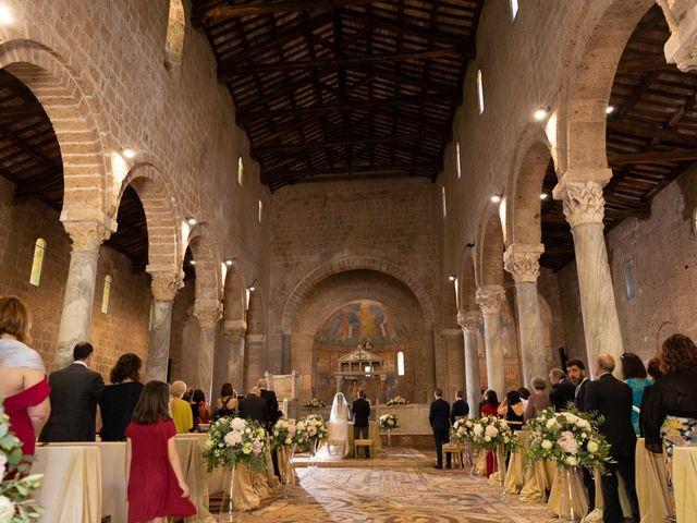 Il matrimonio di Emilio e Lucilla a Nepi, Viterbo 46