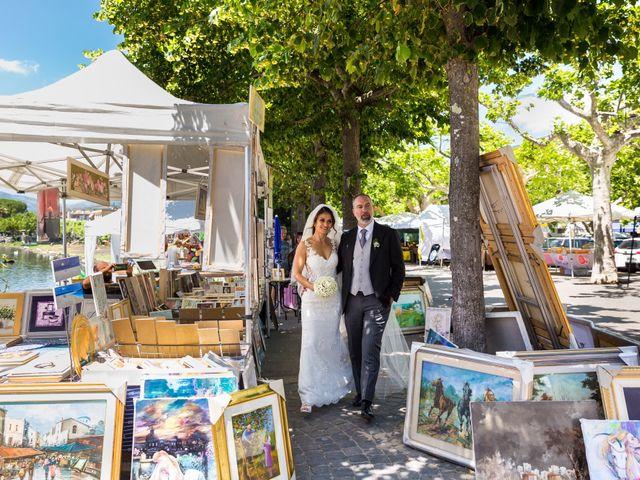 Il matrimonio di Emilio e Lucilla a Nepi, Viterbo 47