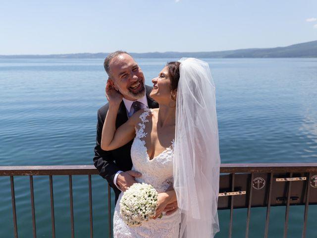 Il matrimonio di Emilio e Lucilla a Nepi, Viterbo 48