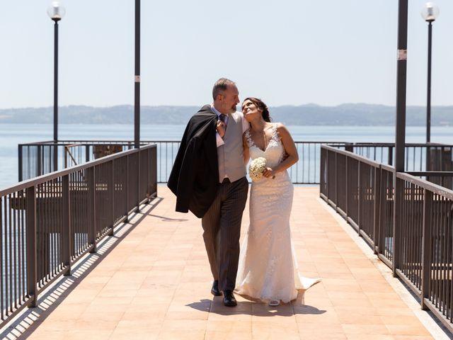 Il matrimonio di Emilio e Lucilla a Nepi, Viterbo 49