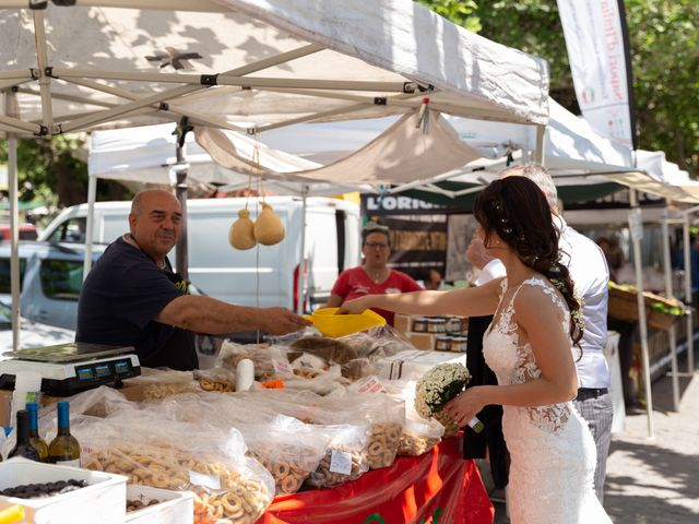 Il matrimonio di Emilio e Lucilla a Nepi, Viterbo 50