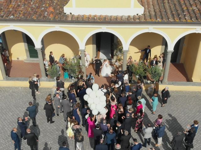 Il matrimonio di Michelangelo e Serena a Quarrata, Pistoia 14