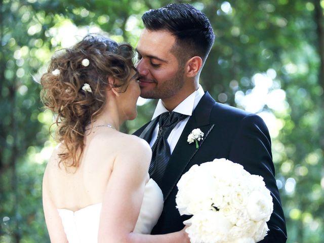 le nozze di Letizia e Raffaele