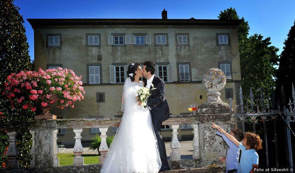 Il matrimonio di Simone e Stefania a Pieve a Nievole, Pistoia