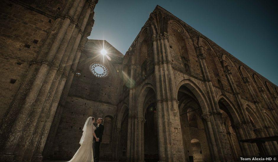 Il matrimonio di Dumitru e Iuliana a Chiusdino, Siena