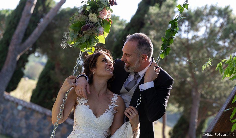 Il matrimonio di Emilio e Lucilla a Nepi, Viterbo
