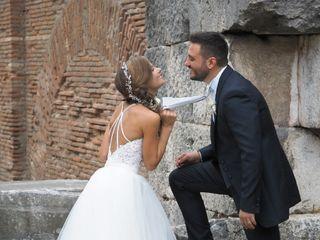 Le nozze di Federica e Fausto Cesare 1