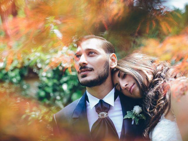 le nozze di Cristina e Vincenzo