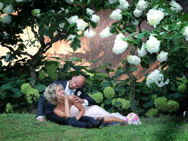 Il matrimonio di Matteo e Elisa a Gazzada Schianno, Varese 11