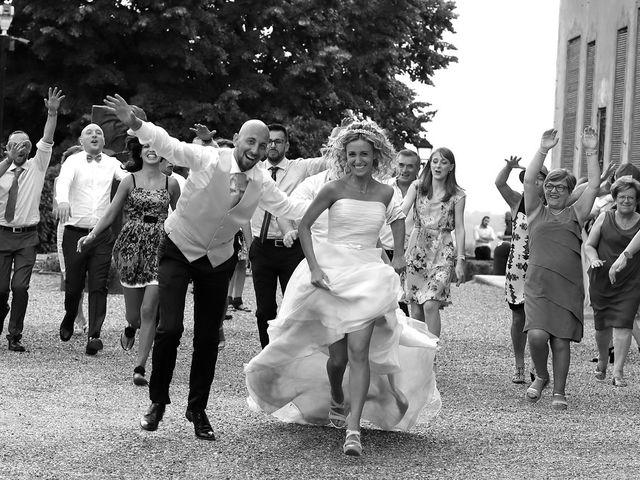 Il matrimonio di Matteo e Elisa a Gazzada Schianno, Varese 23