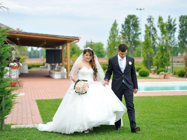 Il matrimonio di Marco Fortunato e Krismanda a Copparo, Ferrara 18
