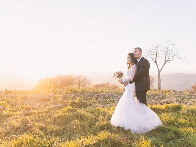 le nozze di Waiata e Scott