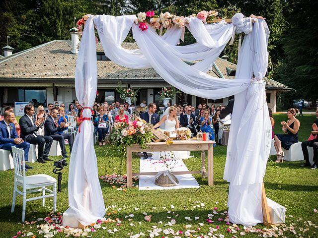Il matrimonio di Simone e Chiara a Besozzo, Varese 7