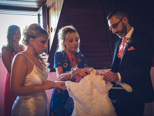 Il matrimonio di Simone e Chiara a Besozzo, Varese 43