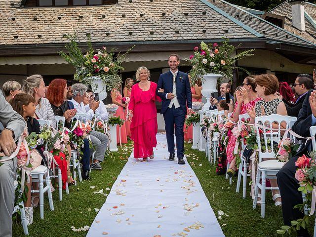 Il matrimonio di Simone e Chiara a Besozzo, Varese 57