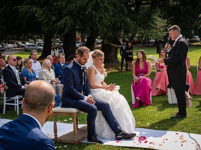 Il matrimonio di Simone e Chiara a Besozzo, Varese 63