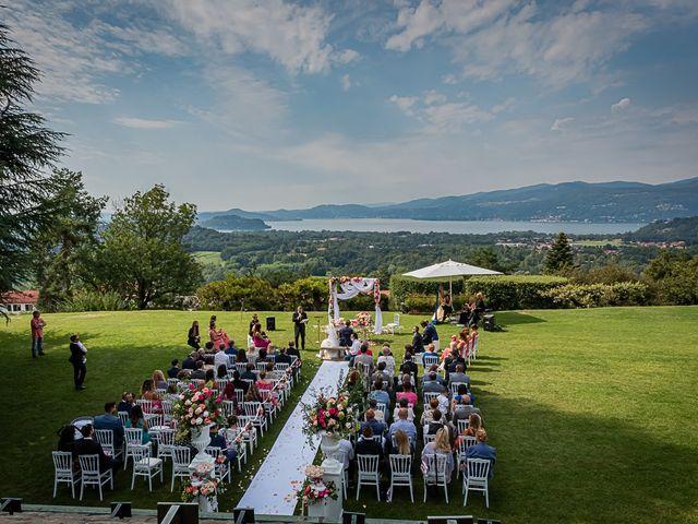 Il matrimonio di Simone e Chiara a Besozzo, Varese 64