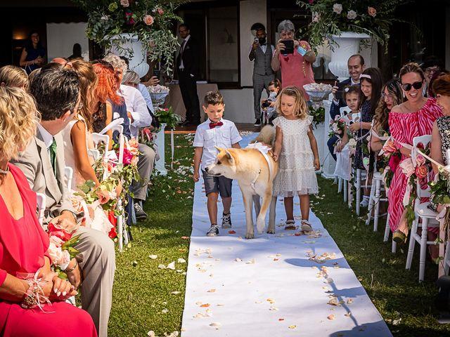 Il matrimonio di Simone e Chiara a Besozzo, Varese 71