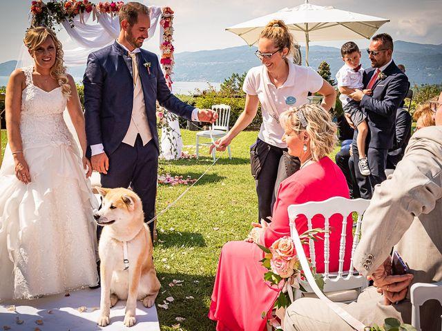 Il matrimonio di Simone e Chiara a Besozzo, Varese 73
