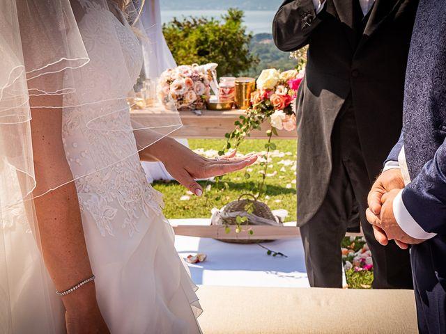 Il matrimonio di Simone e Chiara a Besozzo, Varese 77