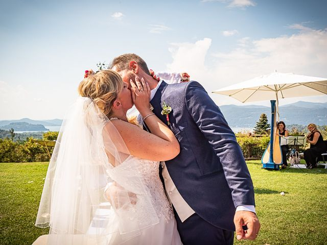 Il matrimonio di Simone e Chiara a Besozzo, Varese 79
