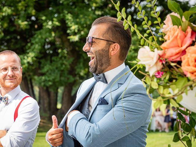 Il matrimonio di Simone e Chiara a Besozzo, Varese 90
