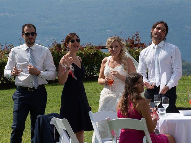 Il matrimonio di Simone e Chiara a Besozzo, Varese 93