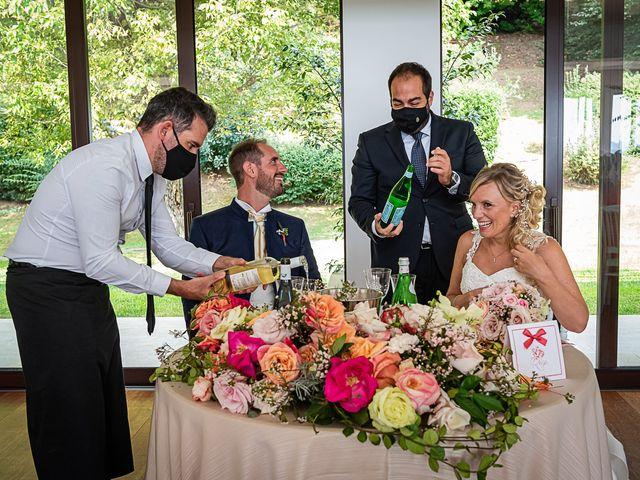 Il matrimonio di Simone e Chiara a Besozzo, Varese 100