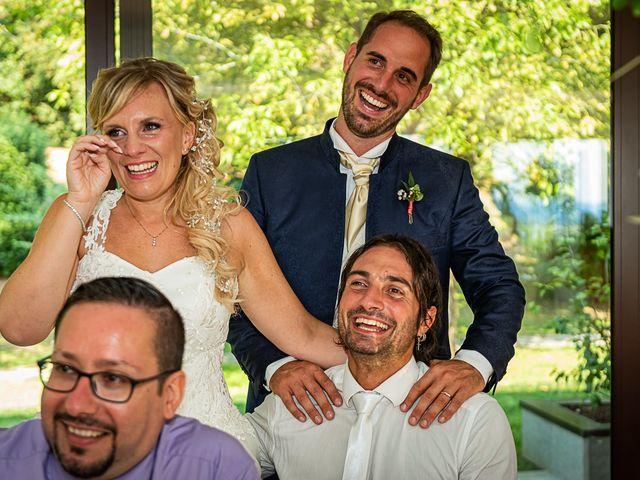 Il matrimonio di Simone e Chiara a Besozzo, Varese 103