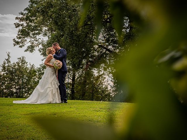 Il matrimonio di Simone e Chiara a Besozzo, Varese 110
