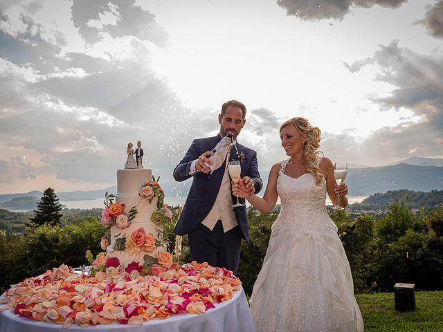 Il matrimonio di Simone e Chiara a Besozzo, Varese 116