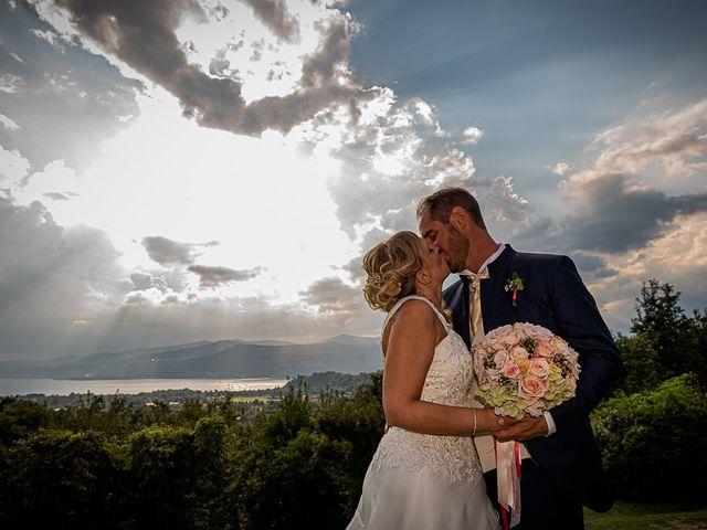 Il matrimonio di Simone e Chiara a Besozzo, Varese 117