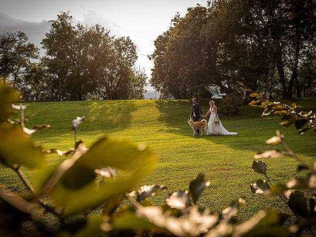Il matrimonio di Simone e Chiara a Besozzo, Varese 125