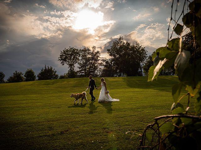 Il matrimonio di Simone e Chiara a Besozzo, Varese 127