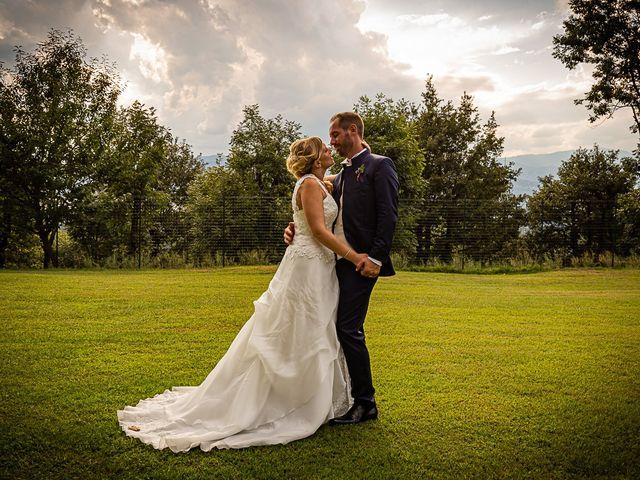 Il matrimonio di Simone e Chiara a Besozzo, Varese 130