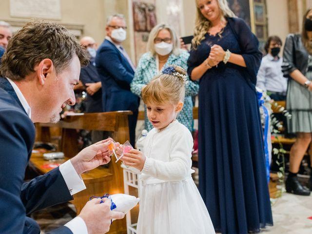 Il matrimonio di Daniele e Monica a Iseo, Brescia 13