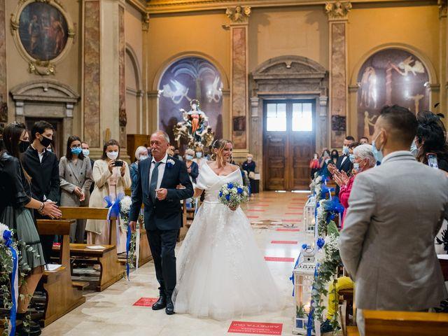 Il matrimonio di Daniele e Monica a Iseo, Brescia 15