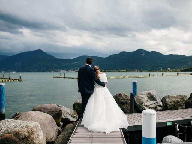 Il matrimonio di Daniele e Monica a Iseo, Brescia 31