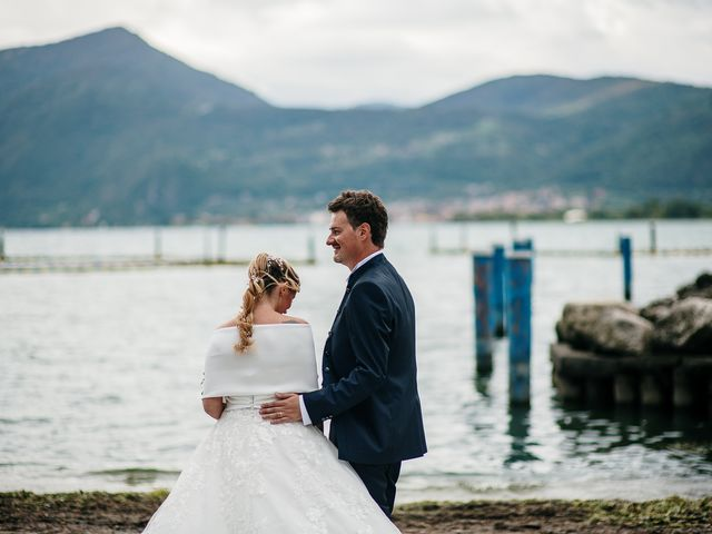 Il matrimonio di Daniele e Monica a Iseo, Brescia 33