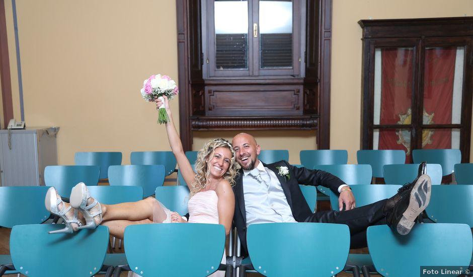 Il matrimonio di Matteo e Elisa a Gazzada Schianno, Varese