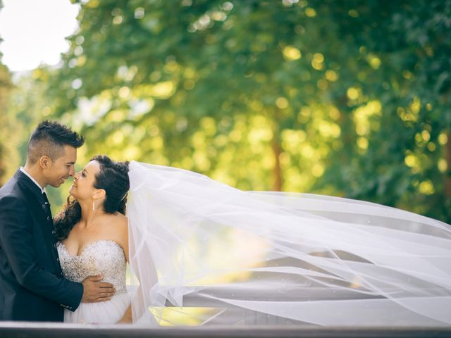 le nozze di Evelyn e Fernando