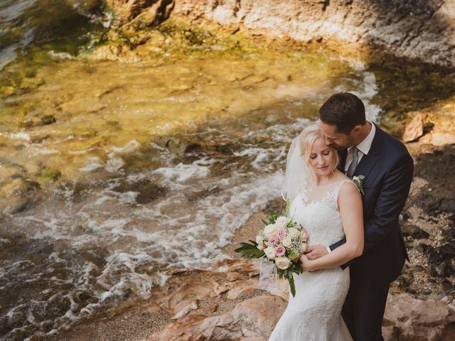 Le nozze di Christina e Marcus