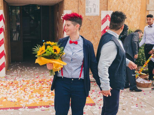 Il matrimonio di Stefania e Cristina a Valeggio sul Mincio, Verona 17