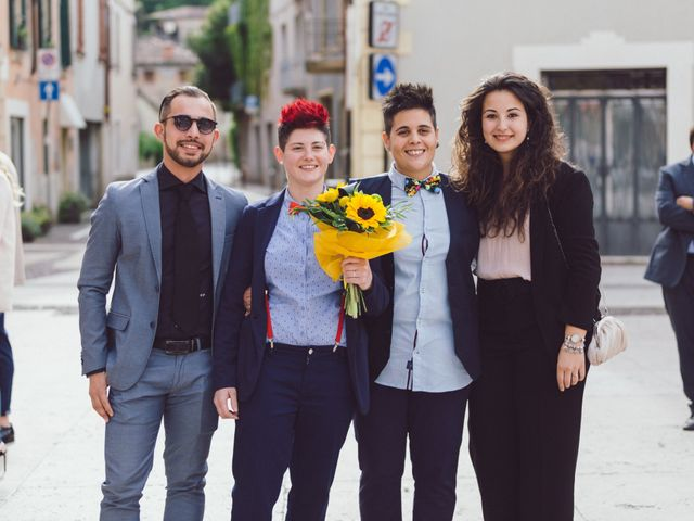 Il matrimonio di Stefania e Cristina a Valeggio sul Mincio, Verona 18