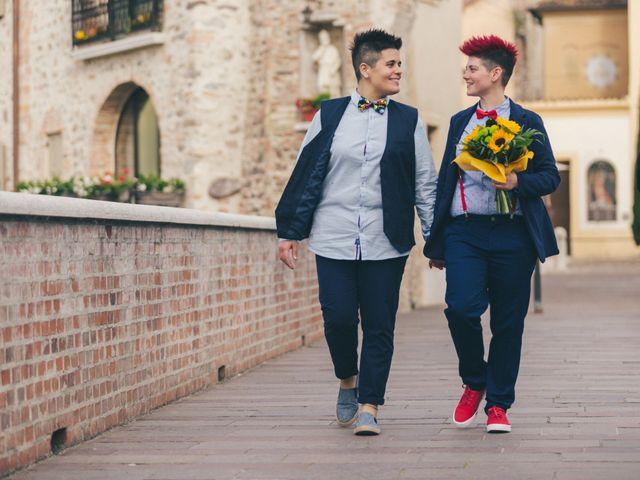 Il matrimonio di Stefania e Cristina a Valeggio sul Mincio, Verona 26